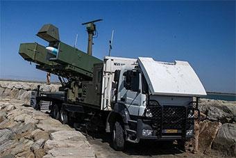伊朗展示新研发反舰导弹 称射程远超300公里