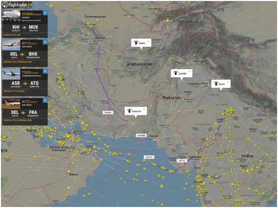 印巴冲突致空域关闭,全球数千航班受干扰