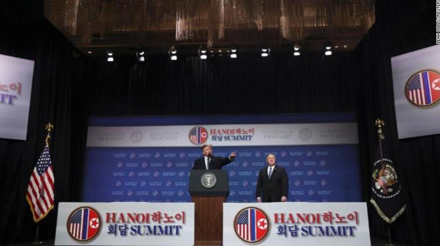 特朗普:目前没有做出与朝鲜领导人举行第三次峰会的承诺