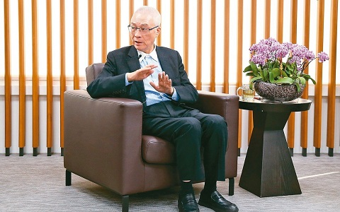 吴敦义:民进党已失民心国民党应抓住机会