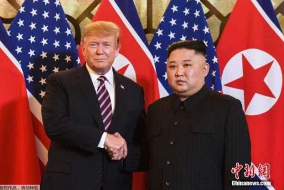朝美领导人继续会晤 今天或将发表成果性文件