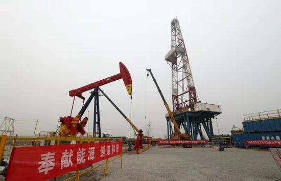 页岩油新突破 中国石油大港油田形成亿吨级增储