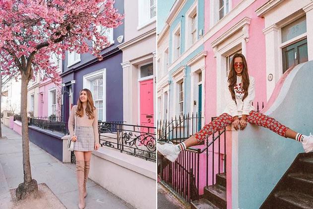伦敦一富人区因缤纷颜色引博主拍照 居民怒不可遏