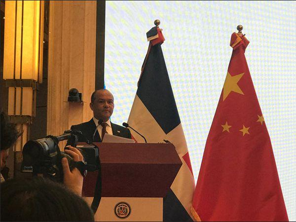多米尼加驻华大使:与中国建交让我们多了13亿新朋友