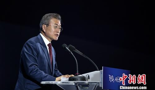 """韩总统""""三一运动""""发表致辞 强调深化与日本合作"""