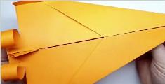 飞得超远的空气动力纸飞机