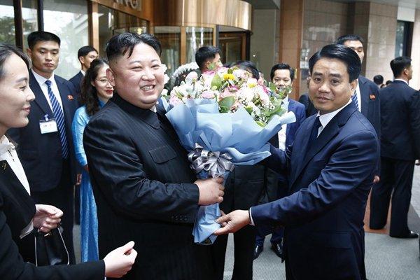 朝鲜最高领导人金正恩离开河内 乘专列返回朝鲜