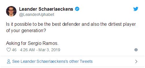 拉莫斯与梅西冲突,使一场焦点战的讨论变成了