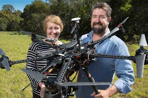 澳研究考拉习性动用红外无人机