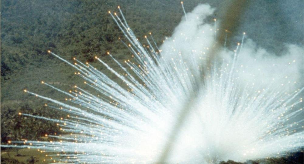 俄媒:美国为首国际联军使用白磷弹空袭叙利亚