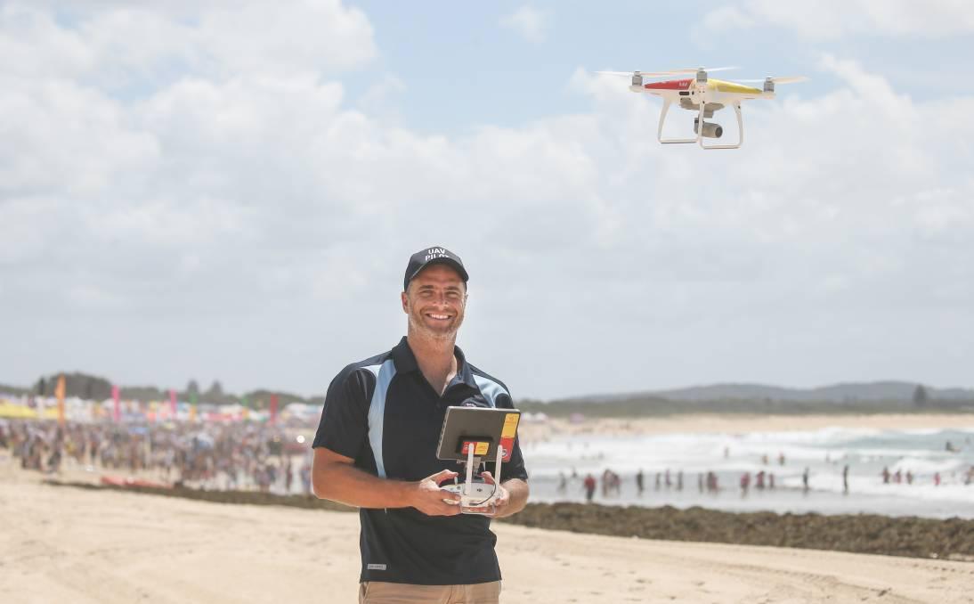 澳大利亚海滩部署无人机助冲浪救生员