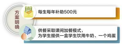 """河北全省农村小学生今秋开始将享受免费""""营养餐"""""""