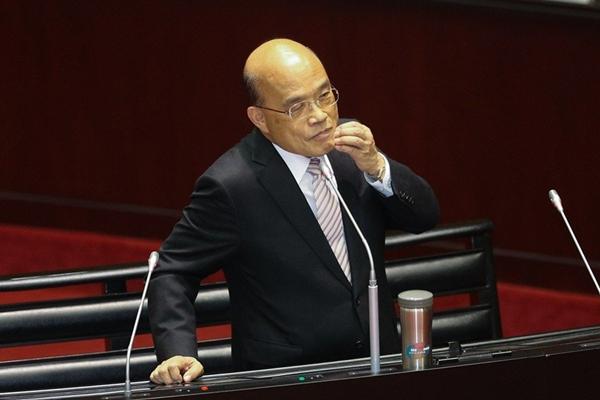 苏贞昌自夸上任50天政绩吓人 台网友看了想打脸