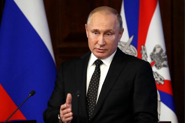 普京签署法令 俄罗斯正式停止履行《中导条约》