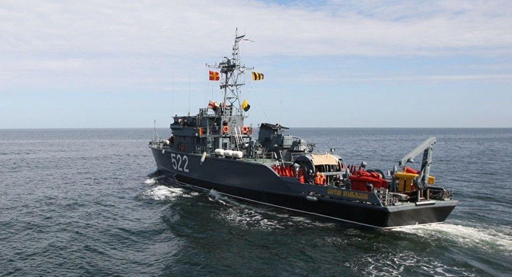 俄海军将装备人工智能水雷 能自己决定炸毁目标