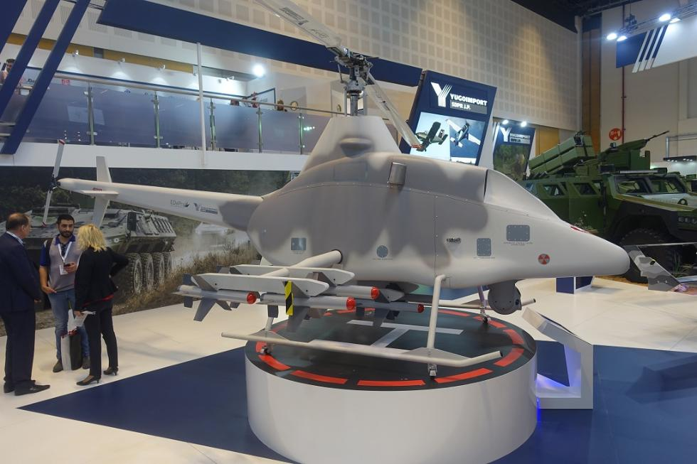 防务展小型无人机扎堆展示预示武器发展未来趋势?