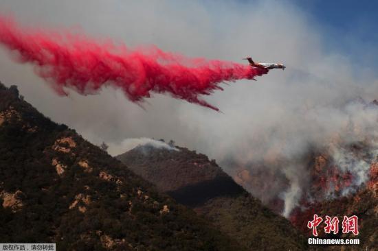 研究:全球暖化或导致加州山火年年爆发