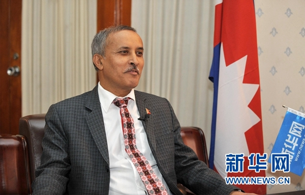 尼泊尔驻华大使:中国为全球经?#31859;?#20986;重要贡献