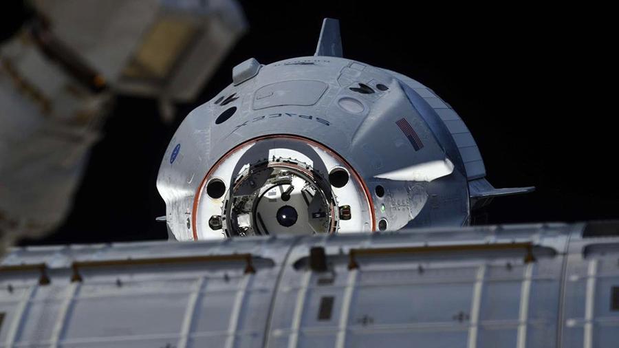 """俄专家:SpaceX的""""龙""""飞船将与俄罗斯""""联盟""""飞船激烈竞争"""