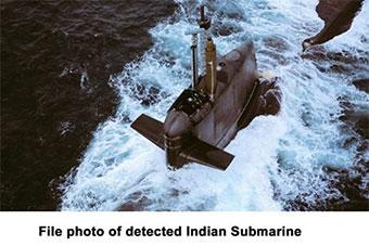 巴海军公布印潜艇型号 被巴落后一代潜艇发现