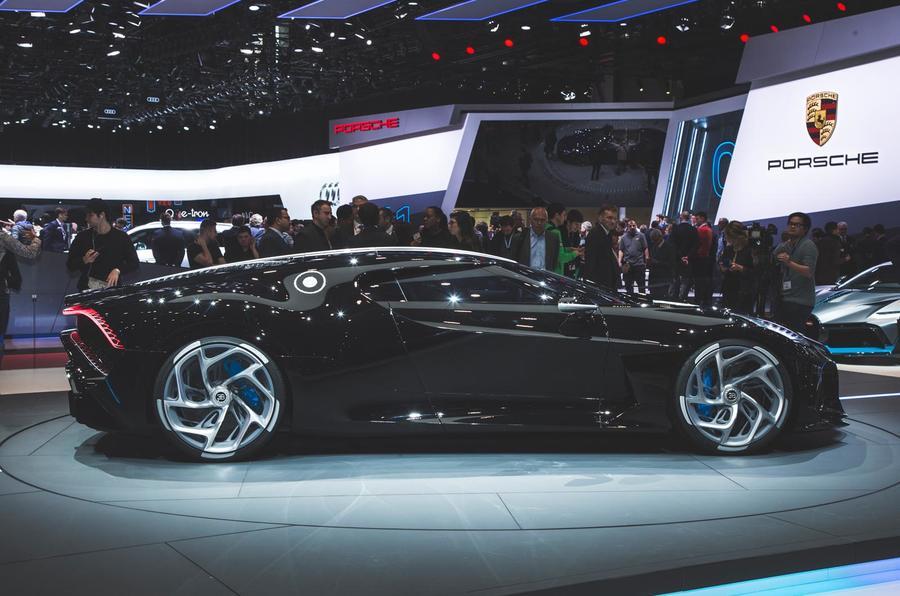 布加迪最贵新车亮相日内瓦 1100万欧元/仅此一台