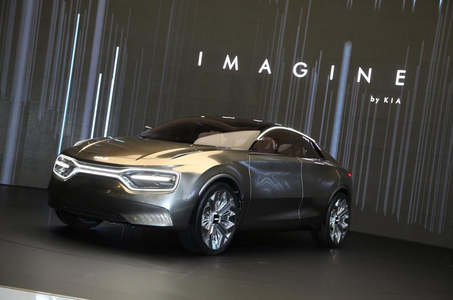 起亚Imagine by Kia概念车亮相 高性能电动车前瞻