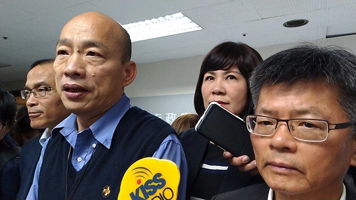 台学者:韩国瑜努力拼经济 蔡当局硬卡下场会是这样