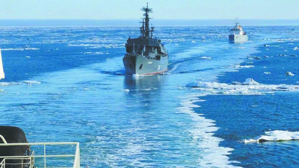 俄为外国军舰走北极立规矩 违规将被扣押或摧毁