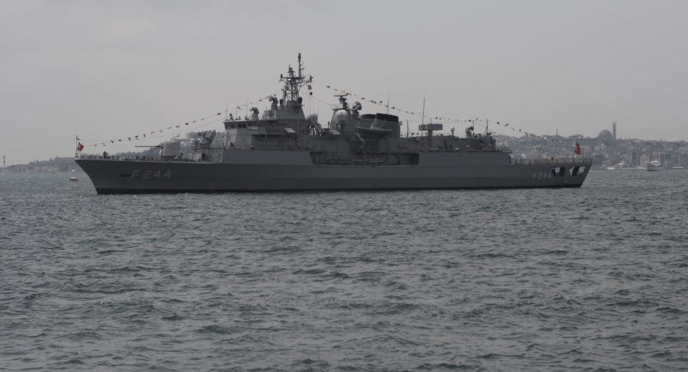 北约2艘军舰进入乌克兰港口 此前还来了美国军舰
