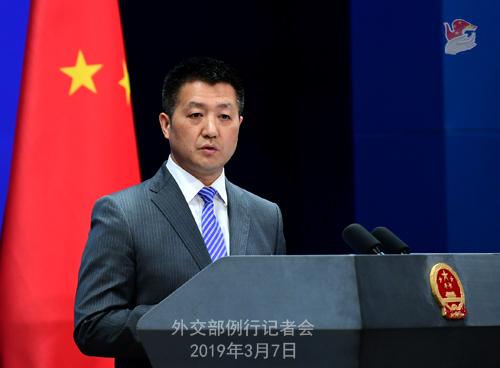 外交部:不欢迎任何借访问新疆干涉中国内政的人去中国新疆维吾尔自治区