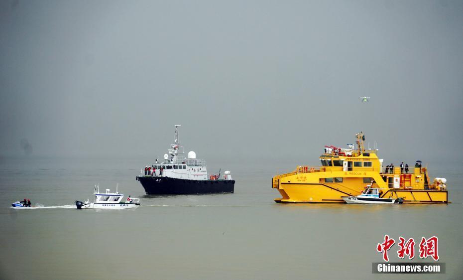 澳门举办海上事故应急演习 首次派出无人机搜索