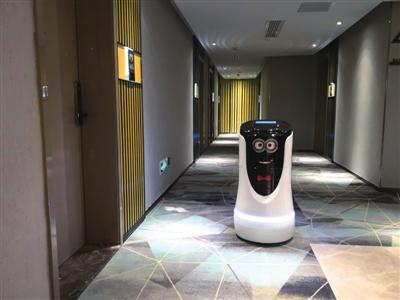 """智能机器人何时成为酒店""""万能员工""""?"""