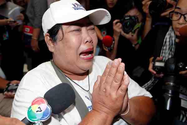 泰护国党遭宪法院勒令解散 支持者奔溃大哭