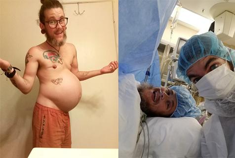 美国得州女子变性成男人后竟怀孕产子