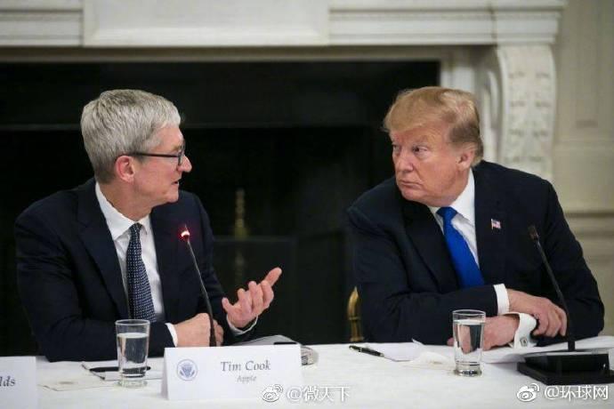 被特朗普叫成蒂姆·苹果 库克把推特名改了