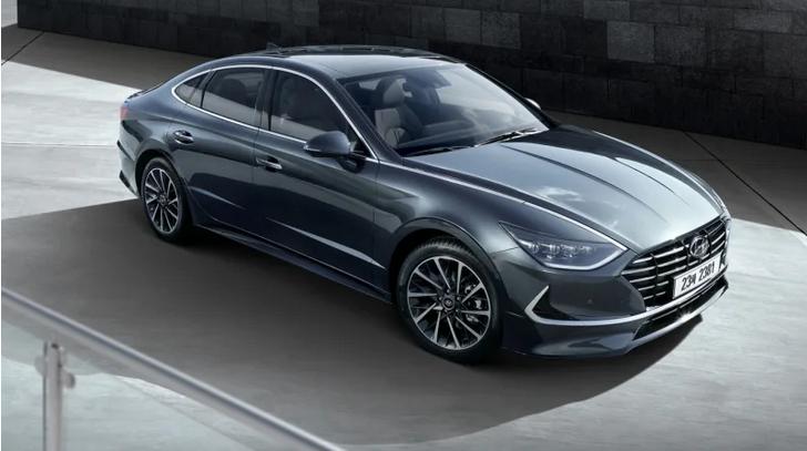 现代发布全新索纳塔官图 轿跑式设计极具动感