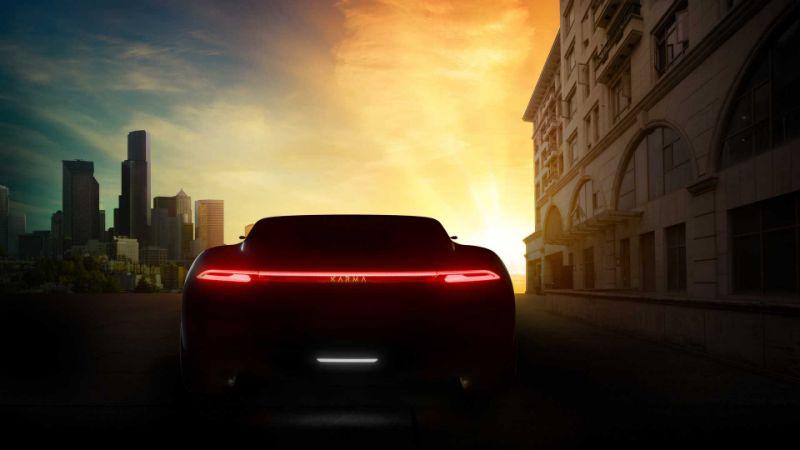 Karma三款车将亮相上海车展 Vision概念车预告发布
