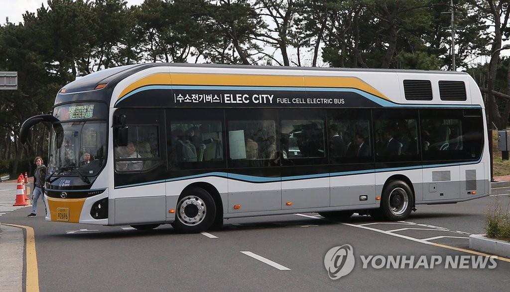 韩国计划2022年2000辆氢燃料电池巴士上路