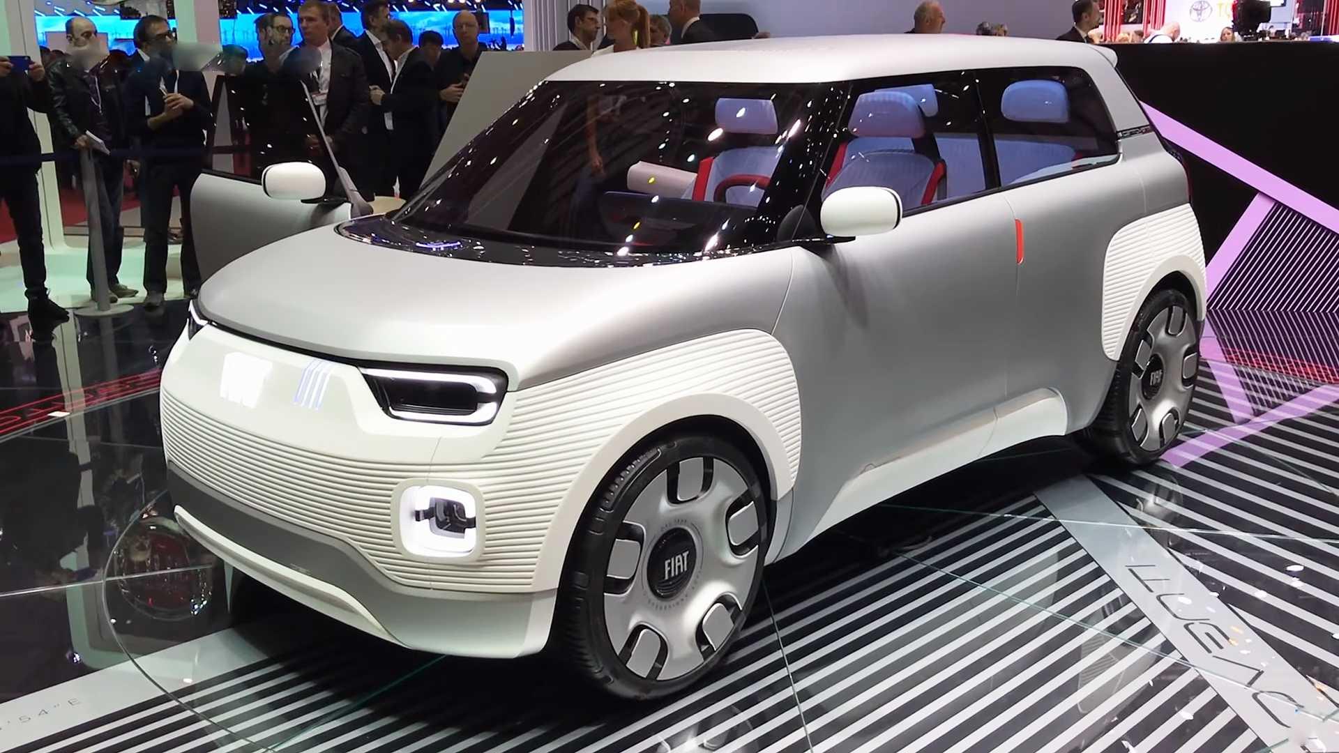 菲亚特Centoventi概念车亮相 可轻松更换电池