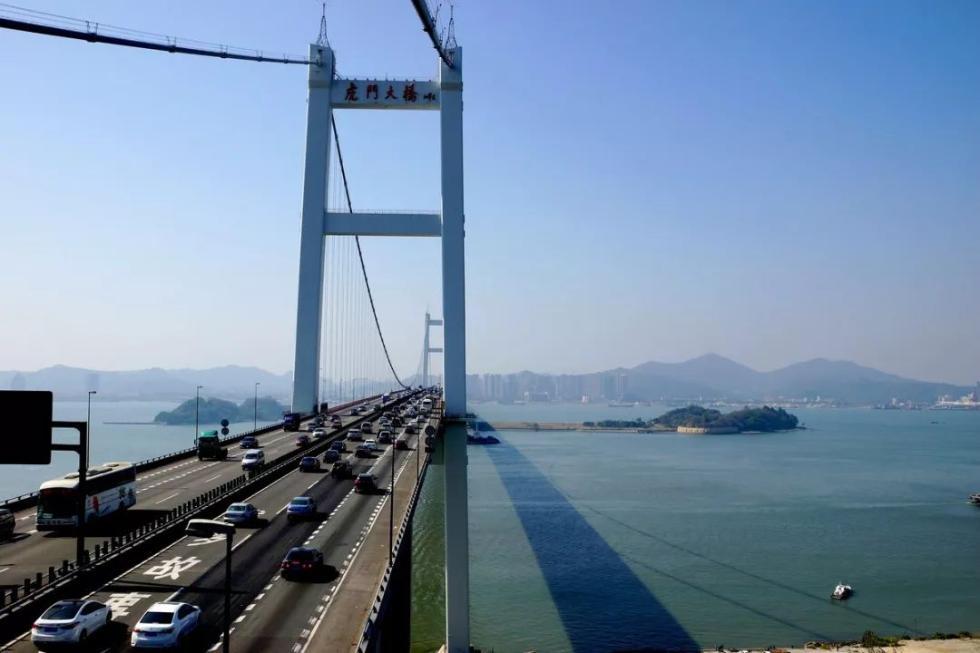 重磅!虎门大桥悬索桥检修,10吨及以上货车禁行!