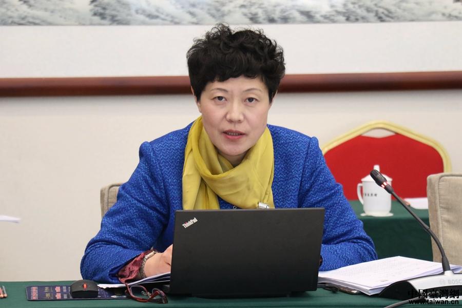 台籍代表:坚持一个中国原则是正道也是底线!