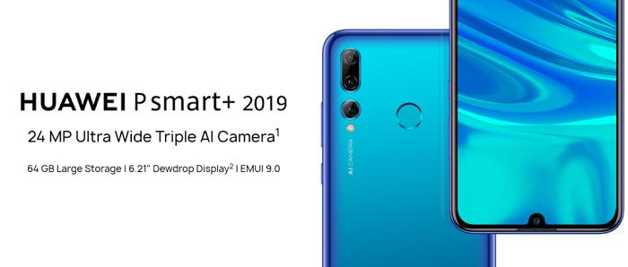 华为P Smart+ 2019推出 Enjoy 9s国际版本