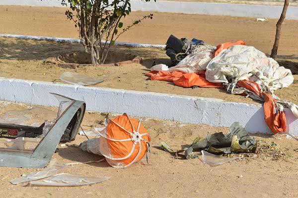 印空军1架米格-21歼击机坠毁 飞行员跳伞逃生