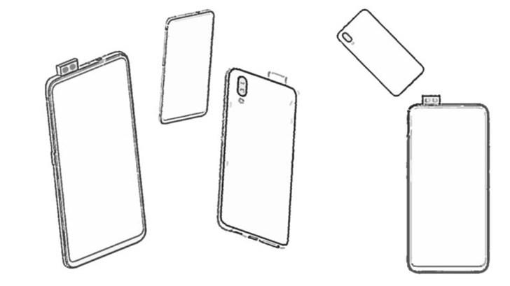 vivo手机新专利曝光:弹出式双摄像头