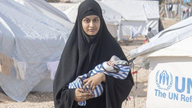 因生子想回国的英国IS新娘被曝孩子于7日死亡