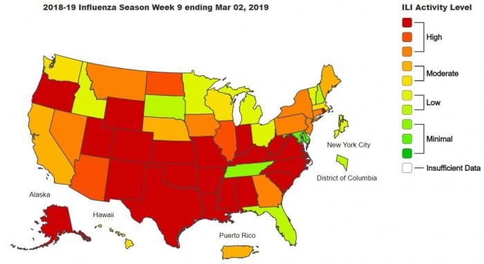 美CDC发出警告:另一波严重流感正在袭来