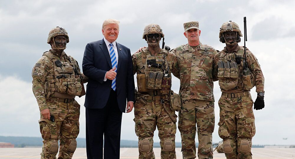 特朗普将公布2020财年国防预算 金额高达7500亿美元