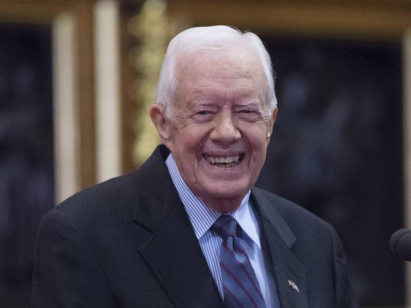 为化解美朝僵局 美国94岁高龄前总统卡特或赴朝斡旋