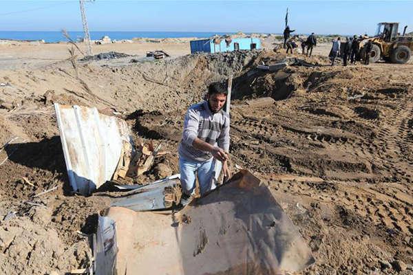 以军战机轰炸加沙地带多个哈马斯目标