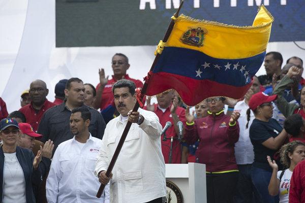 """委内瑞拉遭大规模断电 马杜罗号召民众举行""""反帝""""游行"""